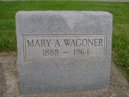 WAGONER, MARY A. - Wright County, Iowa | MARY A. WAGONER