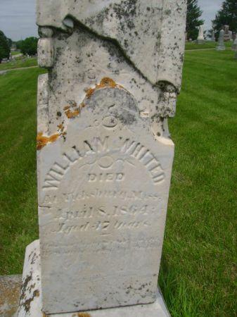 WHITED, WILLIAM - Wright County, Iowa   WILLIAM WHITED