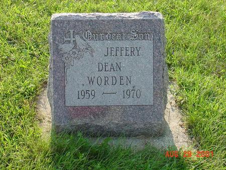 WORDEN, JEFFERY DEAN - Wright County, Iowa | JEFFERY DEAN WORDEN