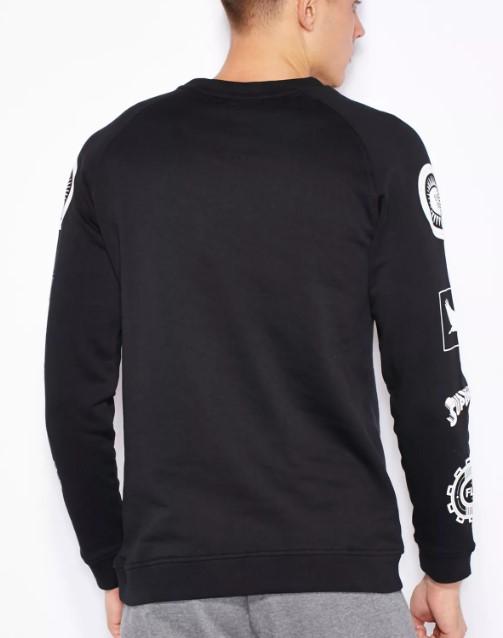 Superman Sweatshirt JACK&JONES | Sweater | 12099506BLACK
