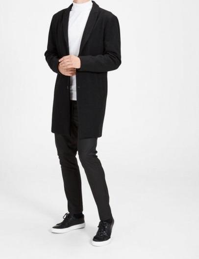 Christian Wool Coat JACK&JONES | Cappotto | 12108668BLACK
