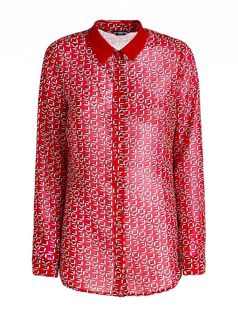 LS LESLIE SHIRT GUESS GUESS   Camicia   W93H91WBTY0PH07