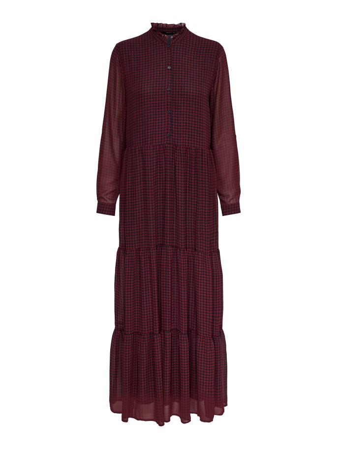 ONLDAPHINE LS ANCEL SHIRT DRESS WVN ONLY | Abito | 15186508MERLOT