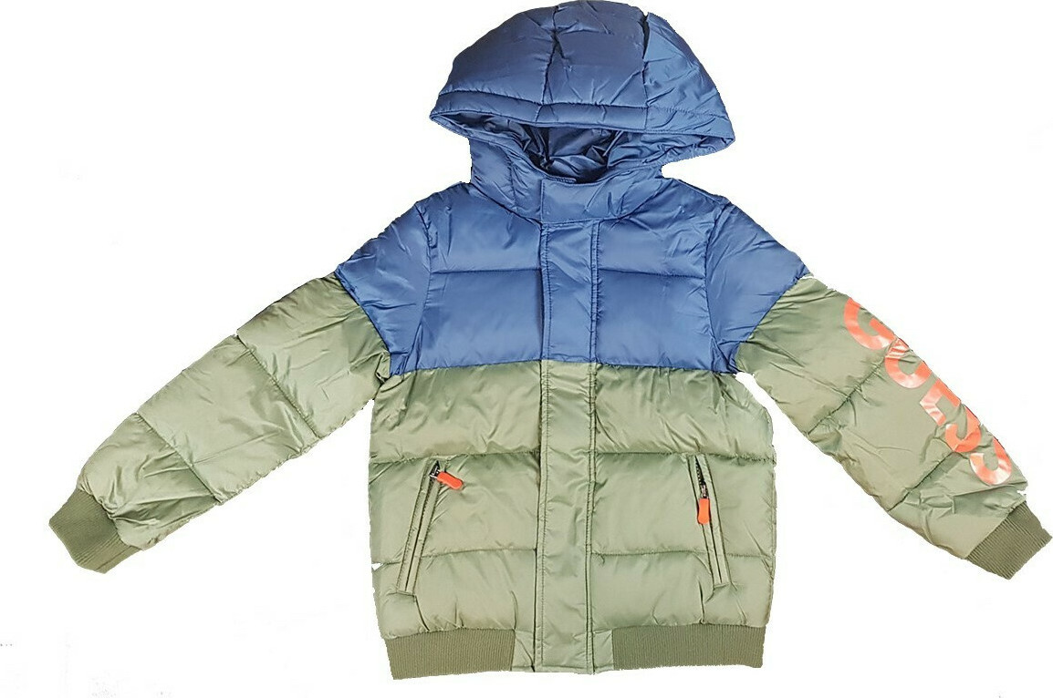 HOODED PADDED LS JACKET GUESS | Giubbino | L0YL08W7S10SAR