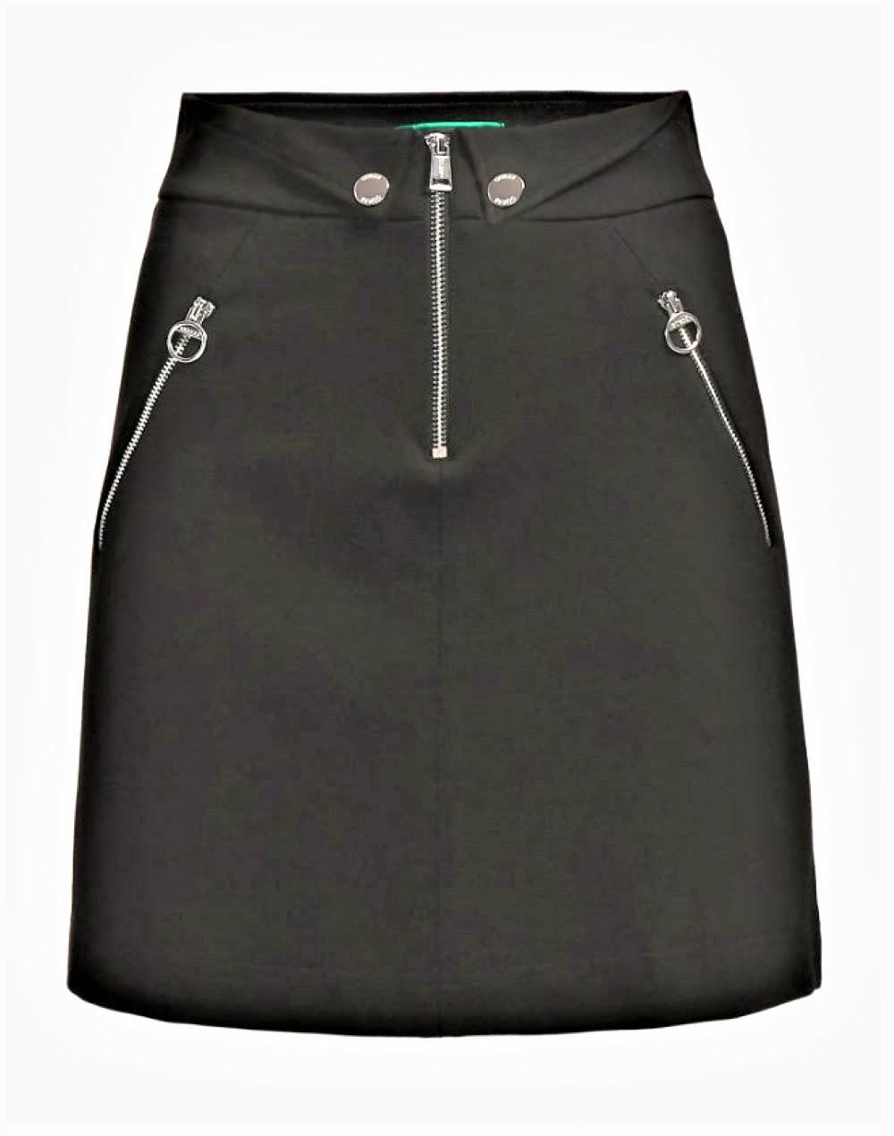 PORZIA SKIRT GUESS | Skirt | W0BD91K8RN0JBLK