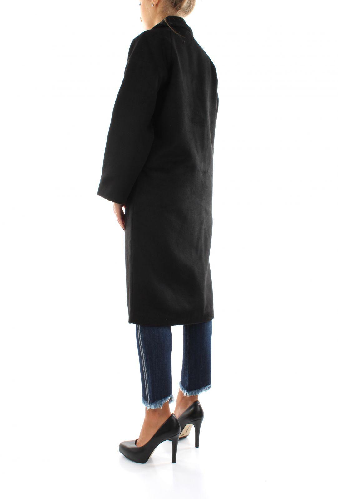 ONLVAL 7-8 SLEEVE LONG WOOD ONLY | Coat | 15208444BLACK