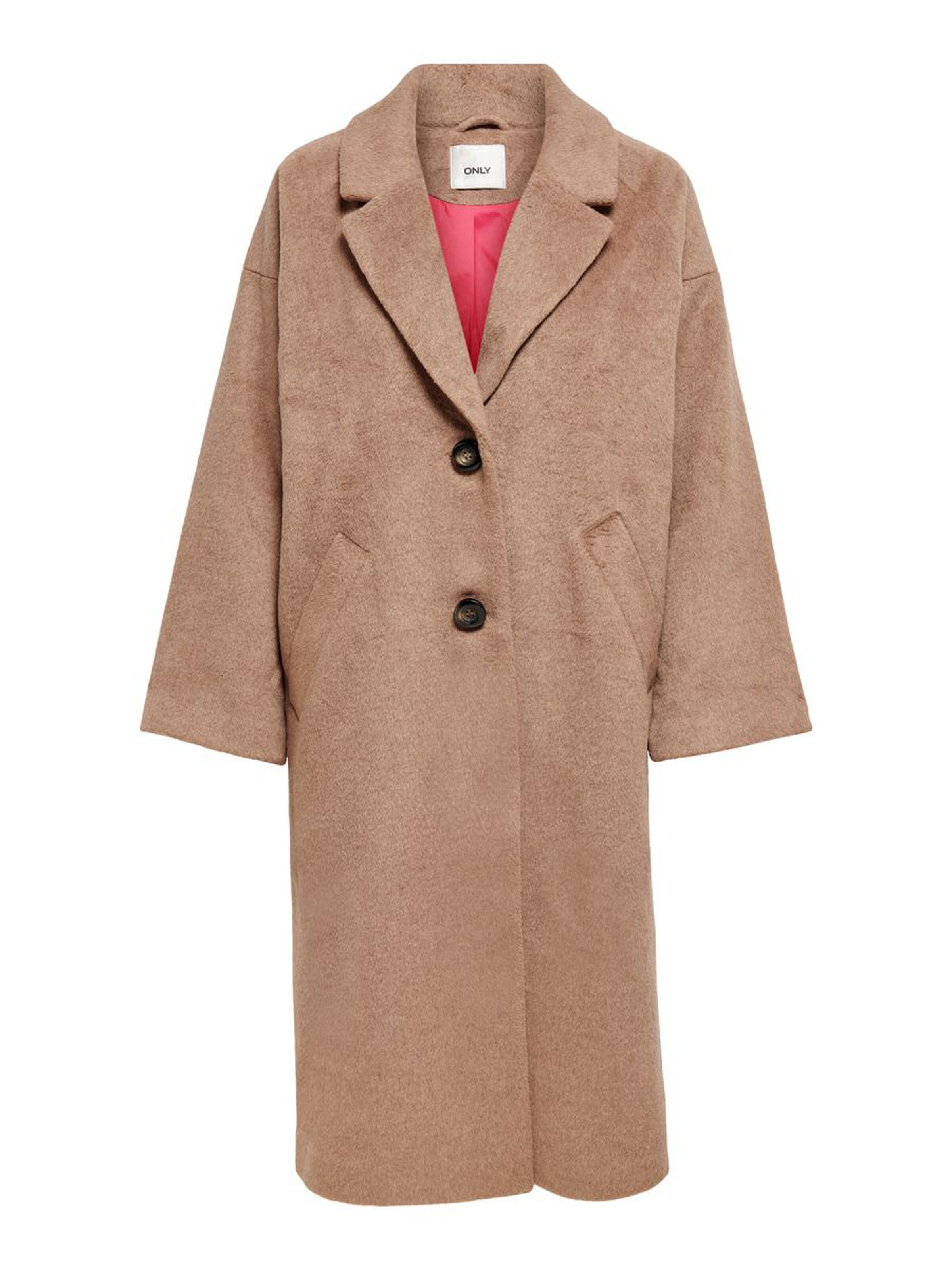 ONLVAL 7-8 SLEEVE LONG WOOD ONLY | Coat | 15208444TOASTEDCOFFE