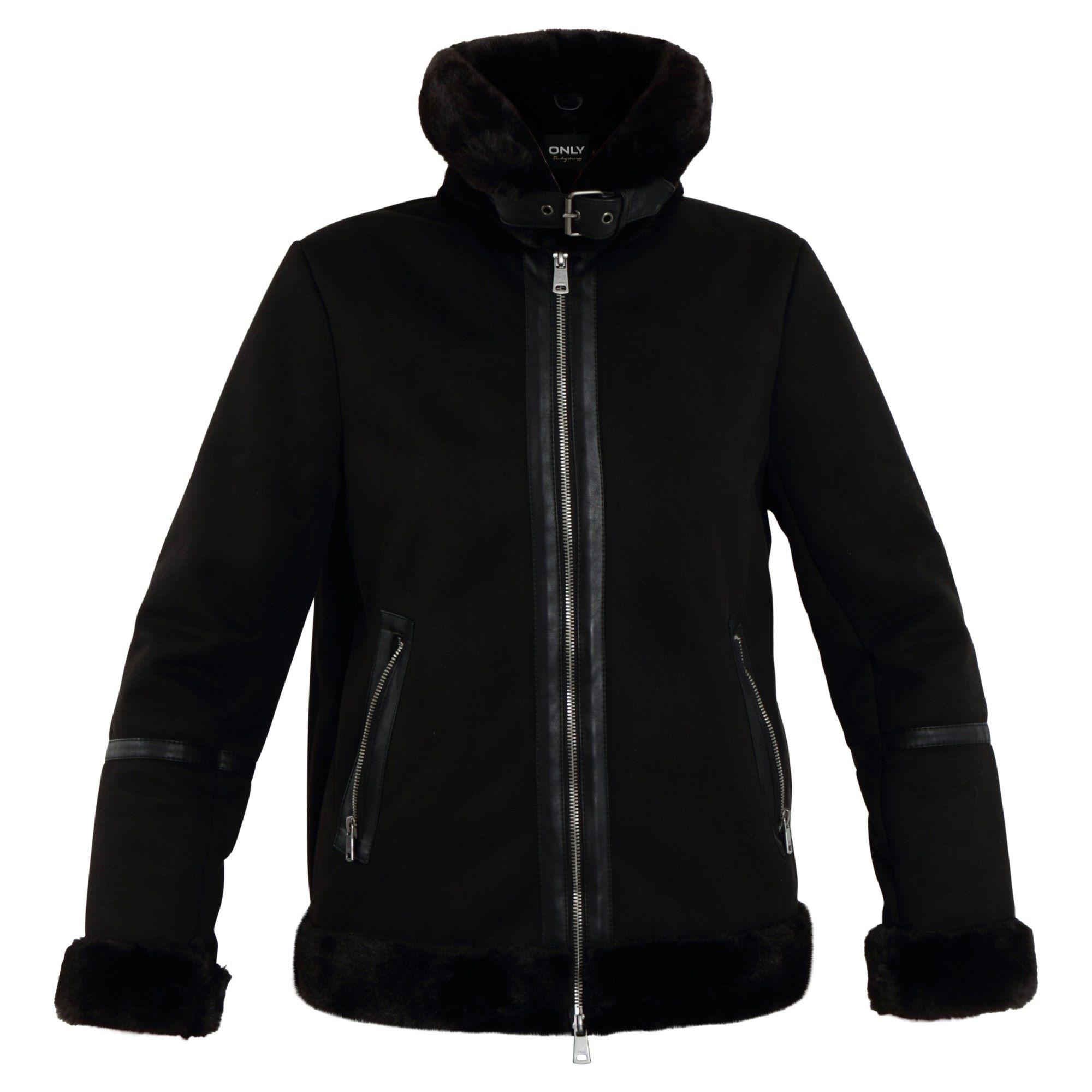 ONLJANICE BONDED AVIATOR OTW ONLY | Jacket | 15208783BLACK
