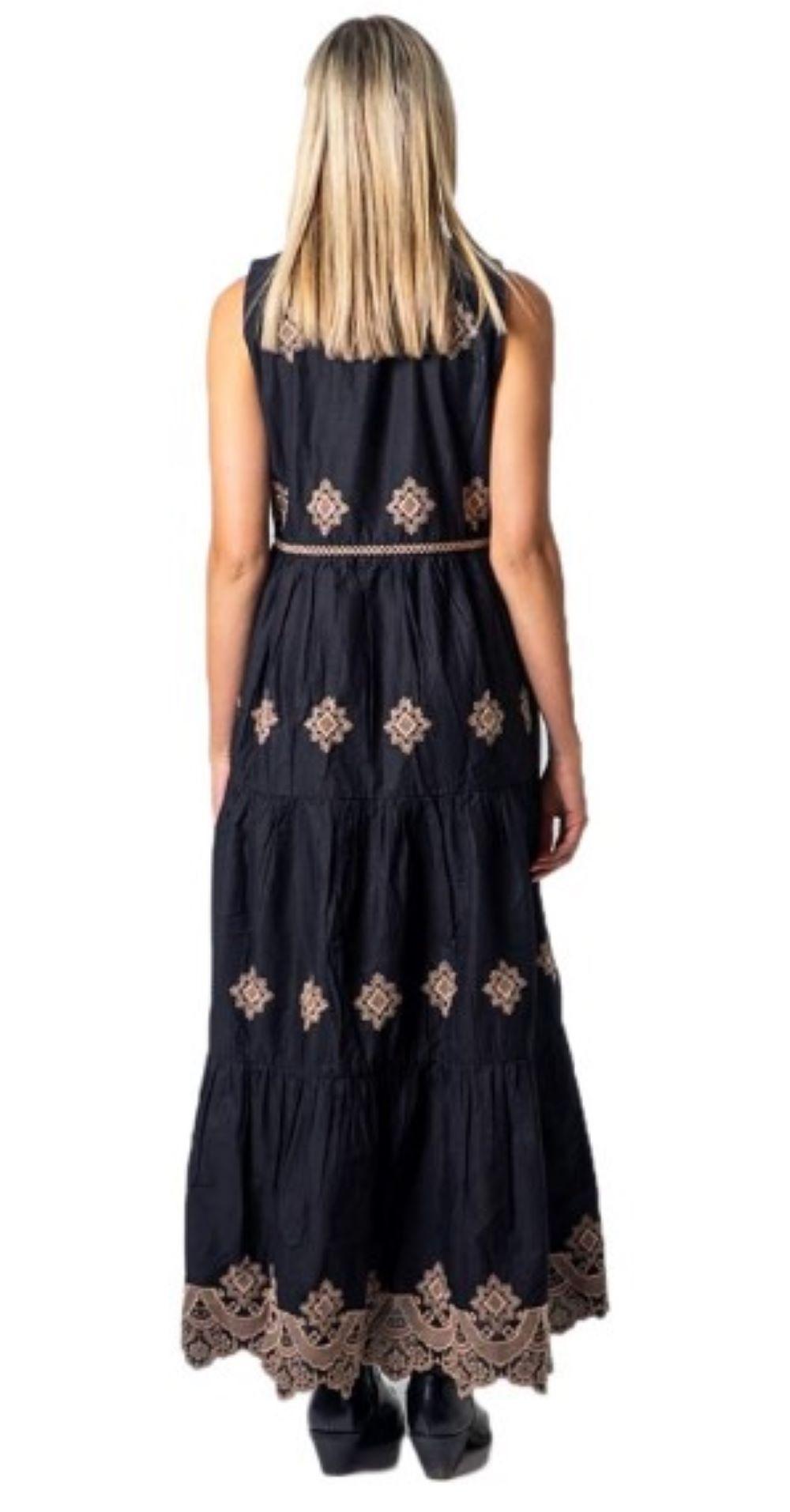 ONLSANNE SL BRODERIE DRESS WVN ONLY | Abito | 15209022BLACK