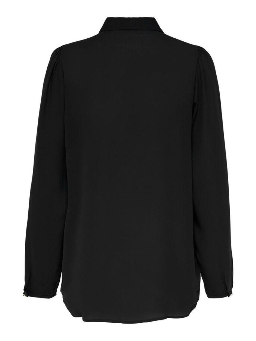 ONLCLOUD LS SHIRT WVN ONLY | Shirt | 15212794BLACK