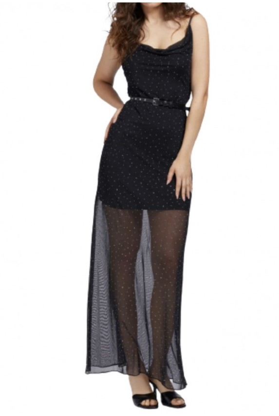 GUESS | Dress | W1YK0JKAQO0JBLK