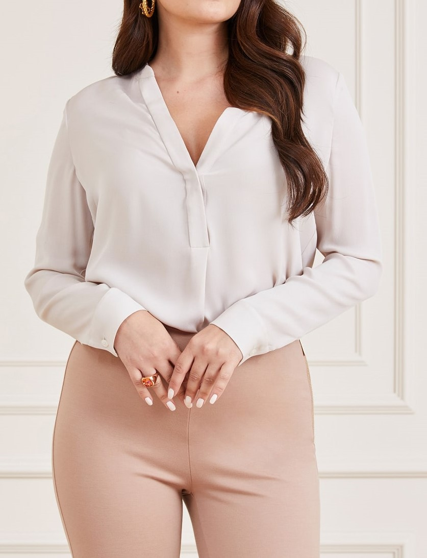 CYNTHIA BLOUSE MARCIANO   Camicia   1GGH109602ZTWHT