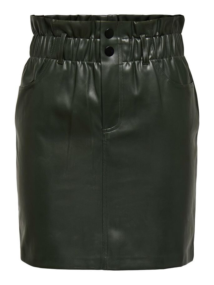 ONLMAYA MIRI FAUX LEATHER SKIRT ONLY   Skirt   15206801BLACK
