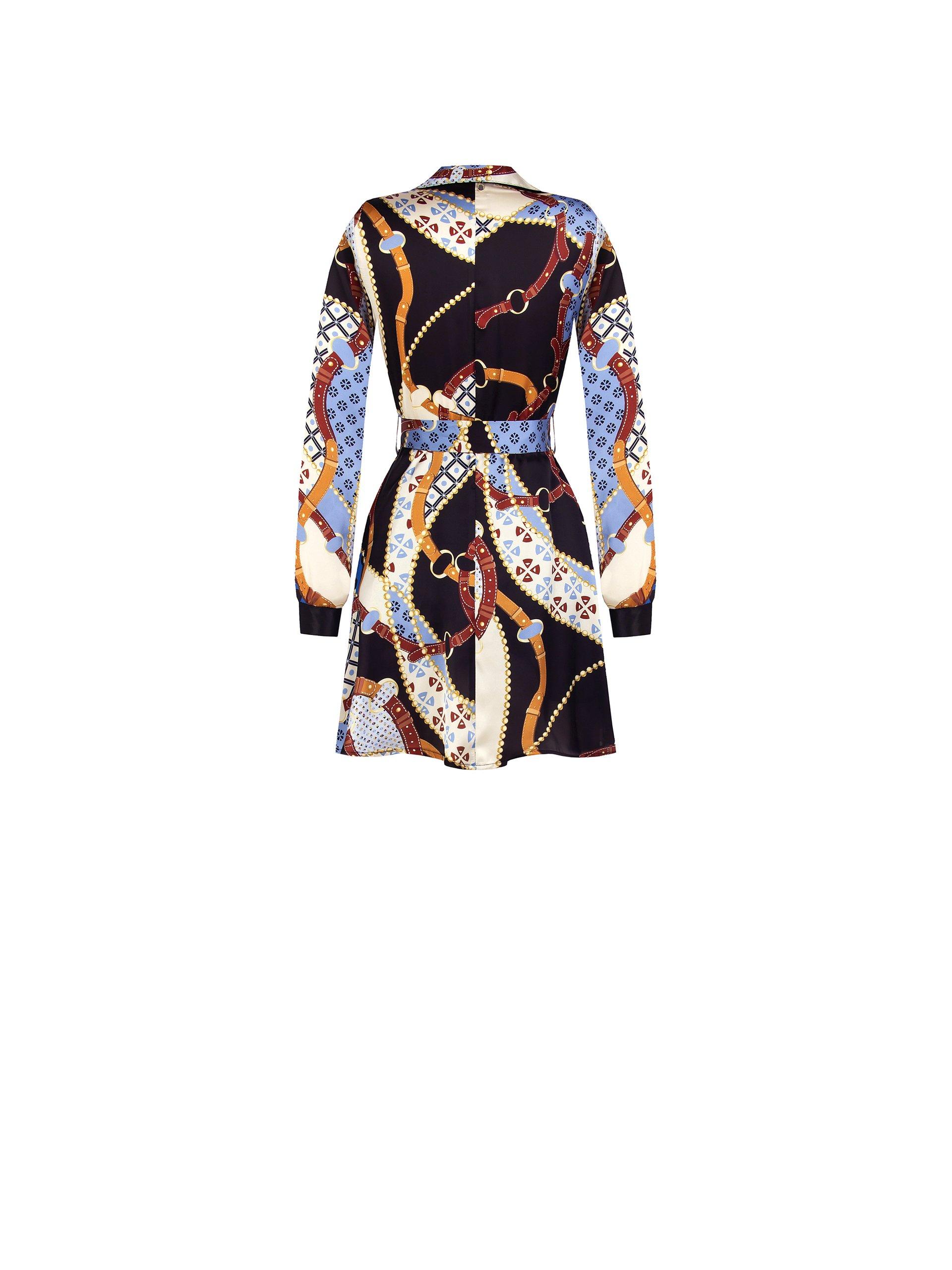 Shirt dress RINASCIMENTO | Dress | CFC0104884003AZZURRO
