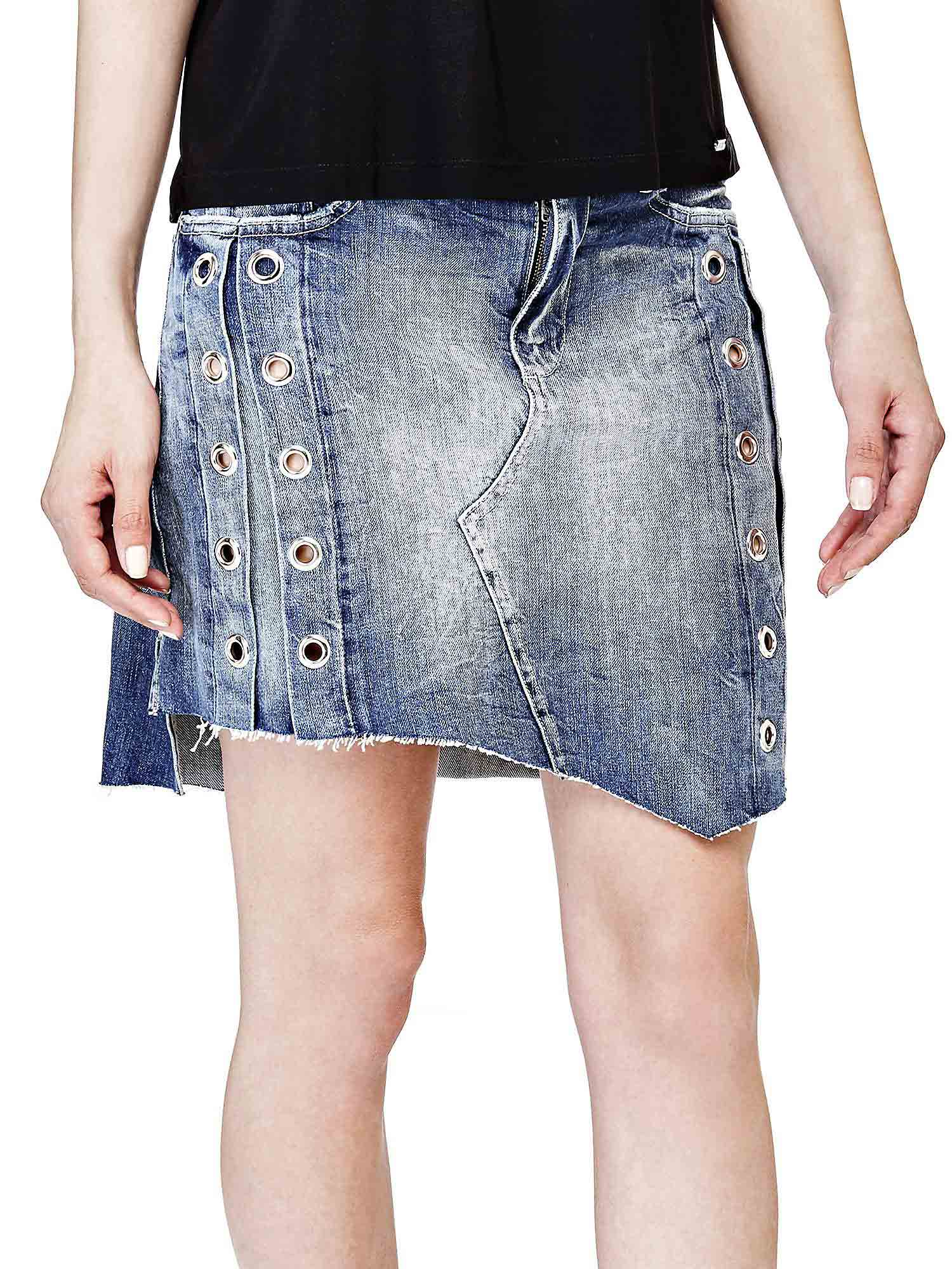 GONNA EYELET GUESS  GUESS | Skirt | W81D03D1H4RMTIN
