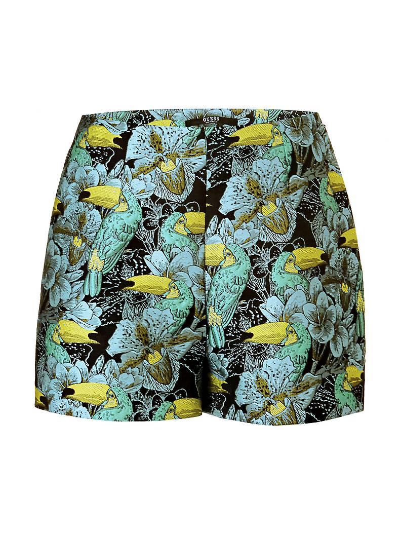 GUESS   Shorts   W82D13W9XM0F362