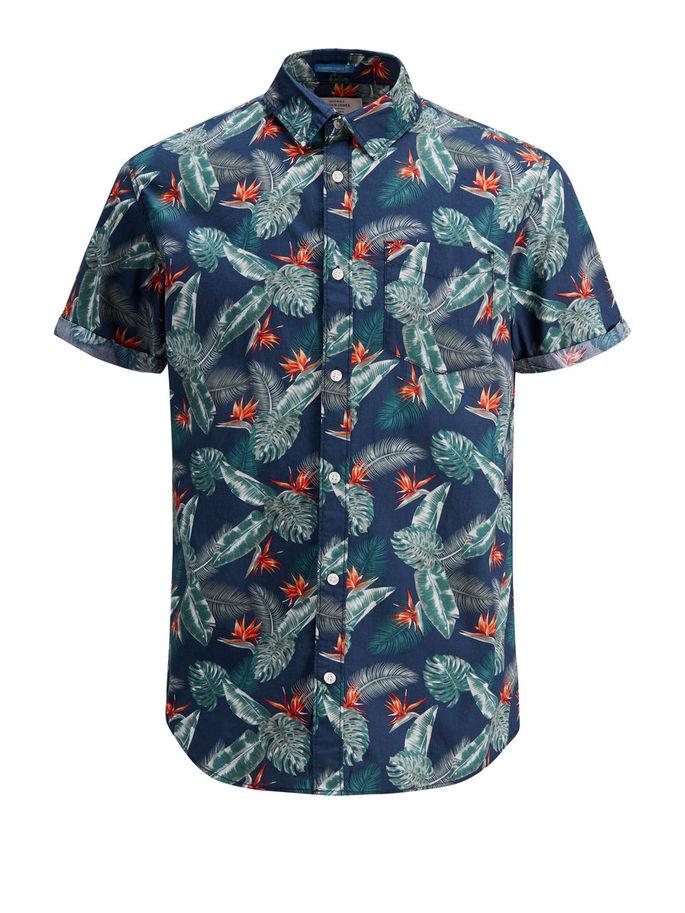 JACK&JONES   Shirt   12134553TOTALECLIPSE