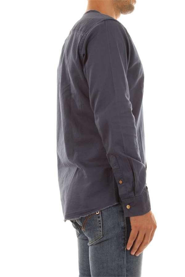 bari collarless shirt JACK&JONES | Camicia | 12138260DARKDENIM