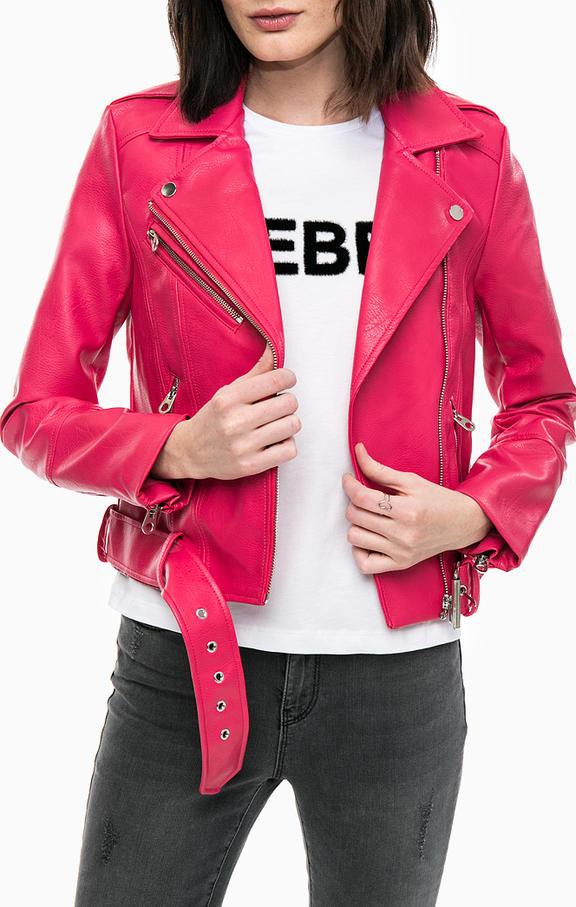 vmoxford short faux leather jacket VERO MODA | Jacket | 10191201AZALEA