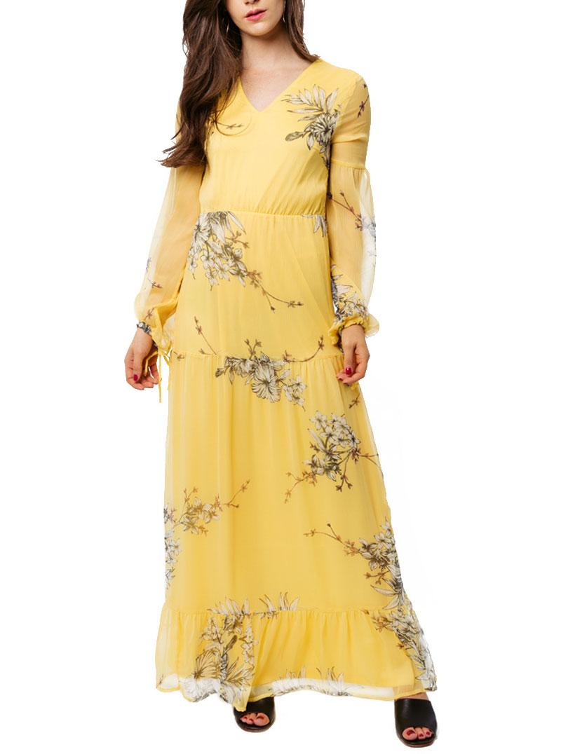 VERO MODA | Dress | 10195917GIALLO