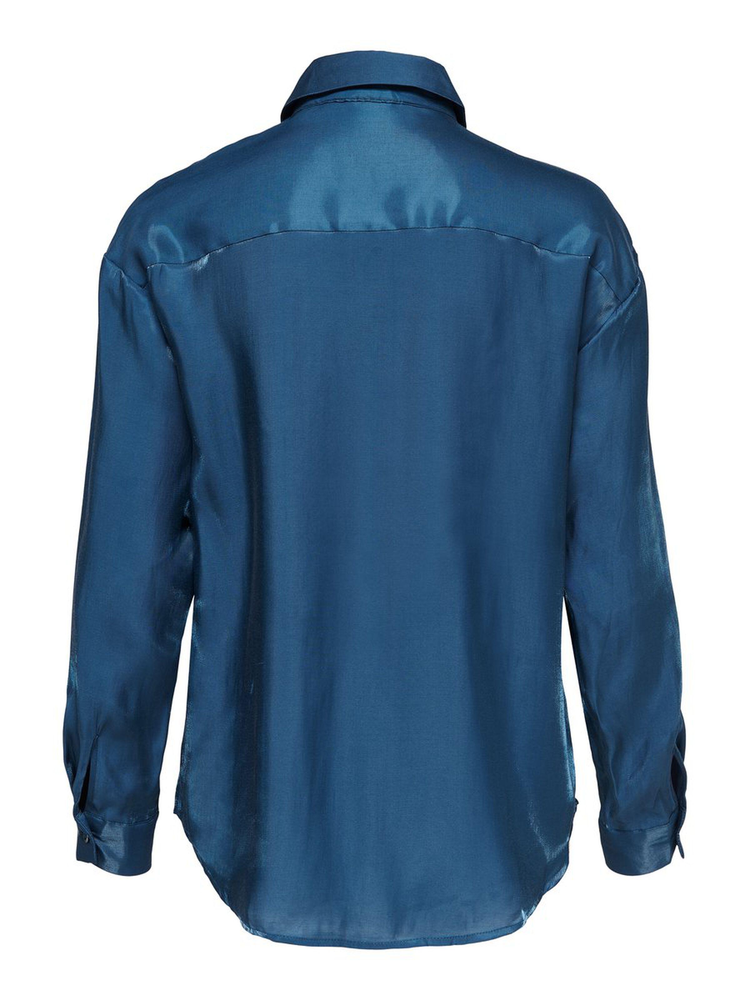 LIVA LS LOOSE SHIRT LOOSE SHIRT WVN ONLY | Shirt | 15197683DARKDENIM