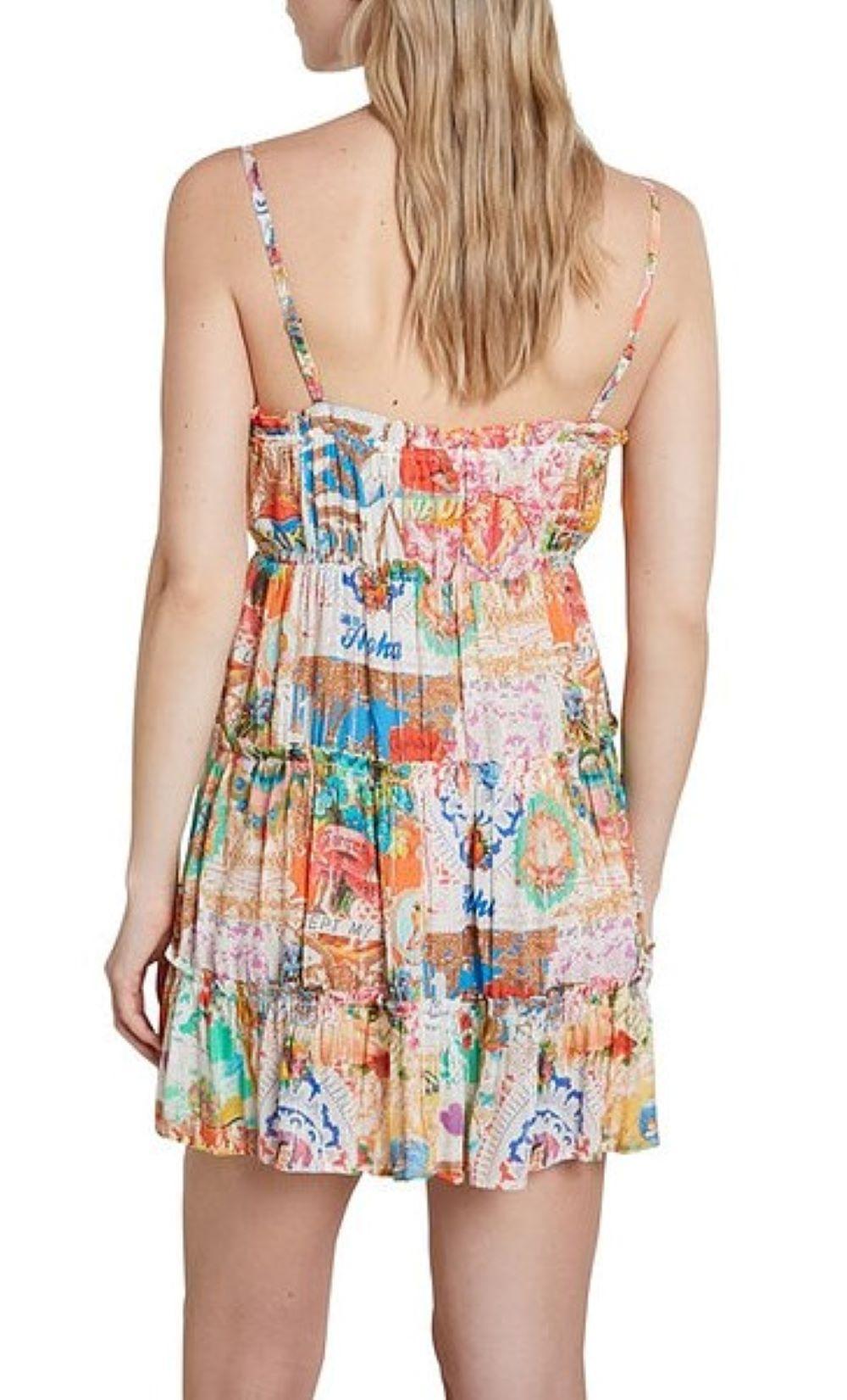 VEST SUMATRA DESIGUAL   Dress   21SWMW171000