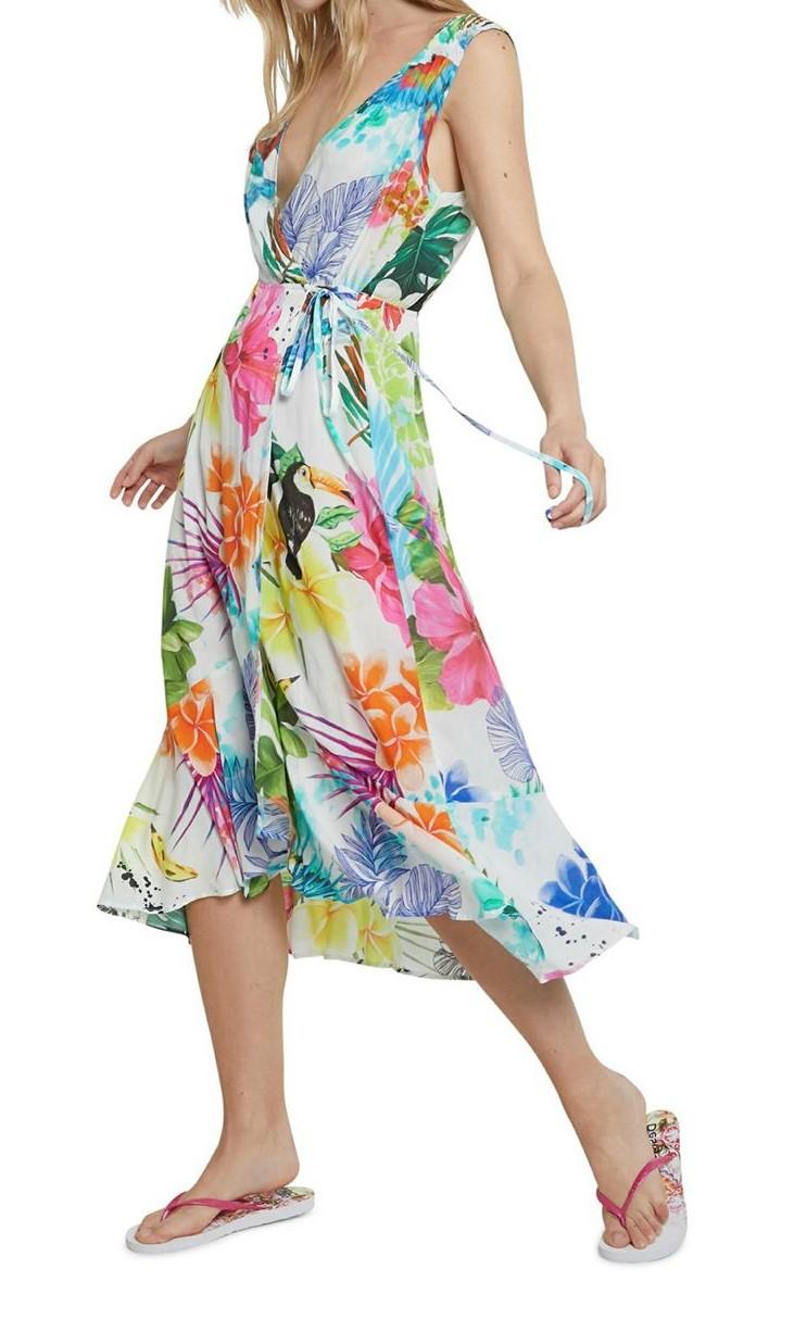 VEST SEYCHELLE DESIGUAL | Dress | 21SWVK421000