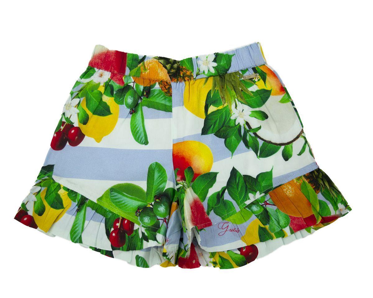 VISCOSE SHORTS GUESS | Shorts | J1GD10WBI40POR3