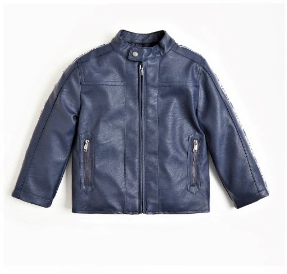 PU LEATHER LS JACKET GUESS   Jacket   N1RL03WBA70DEKB