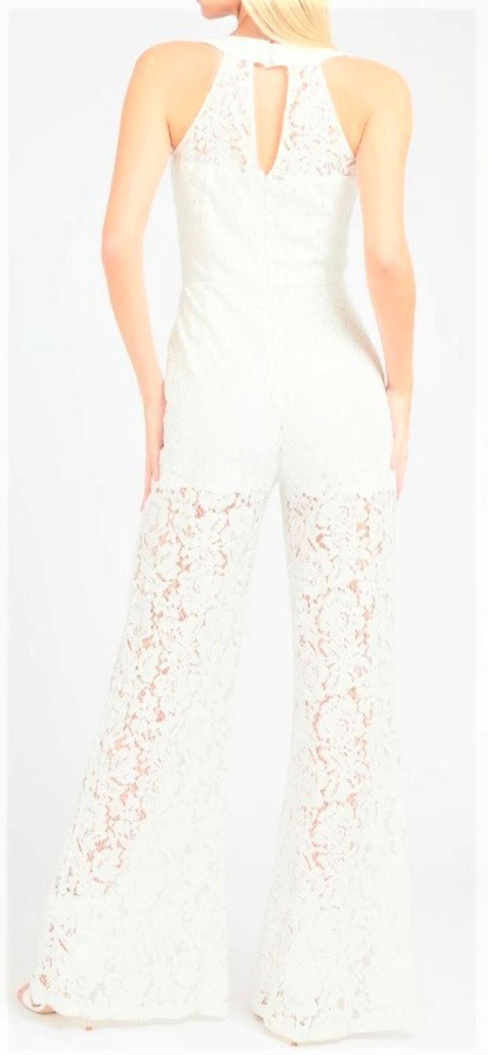 RACHAEL OVERAL GUESS | Jumpsuit | W1GD1HWDW30TWHT