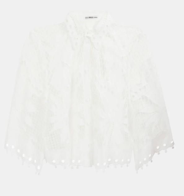 LS PALMIRA SHIRT GUESS | Shirt | W1GH0DWDW20TWHT