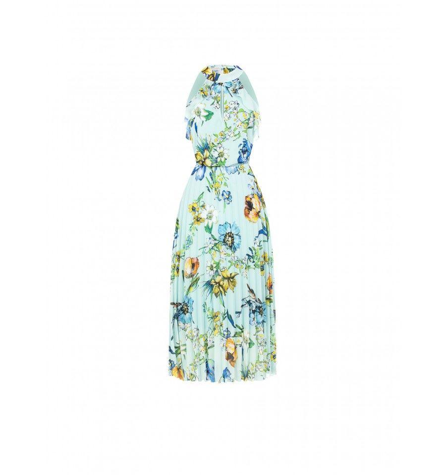 RINASCIMENTO | Dress | CFC0104662003CELESTE