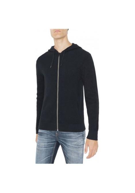 Sweatshirt with zip and hood ANTONY MORATO | Jersey | MMSW00708-YA1000297051