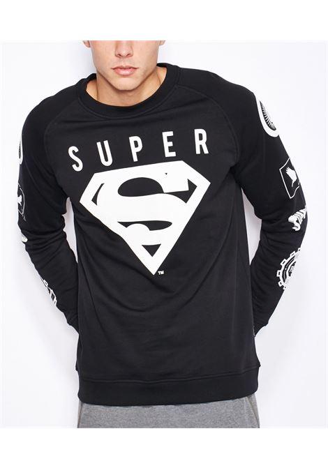 Superman Sweatshirt JACK&JONES | Felpa | 12099506BLACK