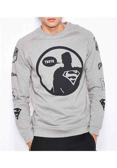 Superman Sweatshirt JACK&JONES | Felpa | 12099506LIGHTGREYMELA