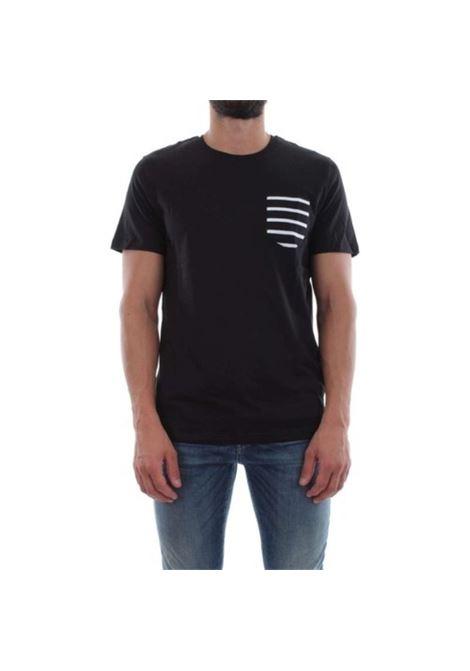 JCOTABLE TEE SS POCKET NOOS JACK&JONES | T-shirt | 12112081BLACKREG