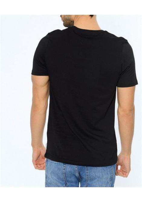 JORCHIMNEY TEE SS CREW NECK JACK&JONES | T-shirt | 12113346BLACKSLIMFIT
