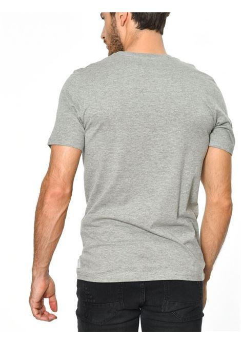 JORCHIMNEY TEE SS CREW NECK JACK&JONES | T-shirt | 12113346LIGHTGREYMELASLIMFIT