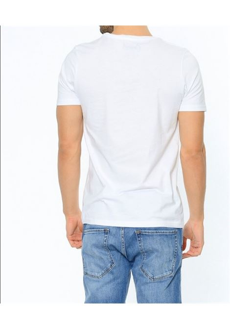 JORCHIMNEY TEE SS CREW NECK JACK&JONES | T-shirt | 12113346WHITESLIMFIT