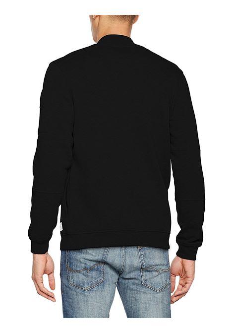 JCOPETE SWEAT ZIP BASEBALL NECK NOOS JACK&JONES | Jersey | 12119060BLACK