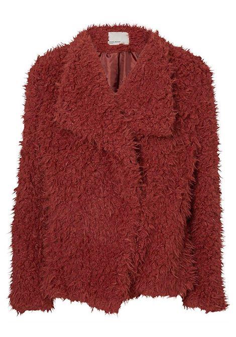 VERO MODA | Fur | 10156693FIREDBRICK