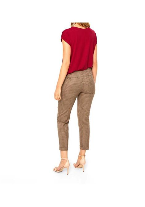 VMLAJA SELMA COCO HW CIGARETTE PANTS VERO MODA | Trousers | 10203790SILVERMINK