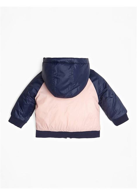PADDED HOODED NYLON LS JACKET GUESS | Jacket | A94L03W9C80SIPK