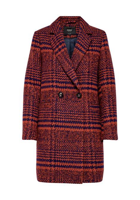 ONLJOHANNA CHECK COAT OTW ONLY | Coat | 15182143KETCHUP