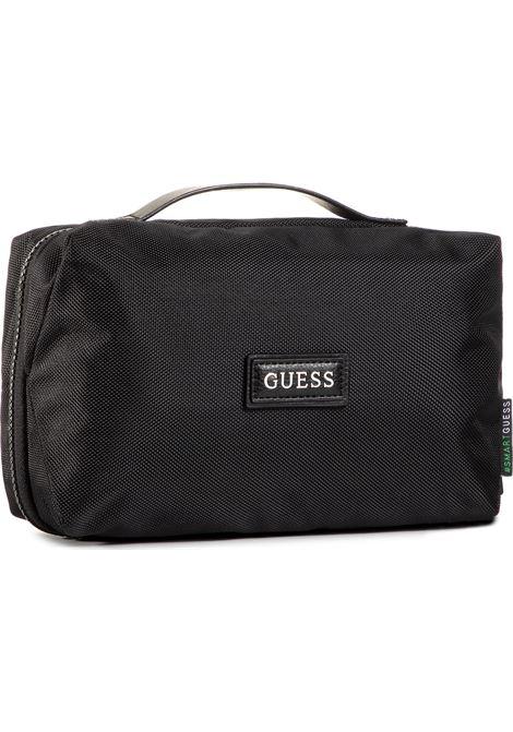 MASSA TRAVEL BEUTY GUESS | Handbag | HMMASSP0442BLA