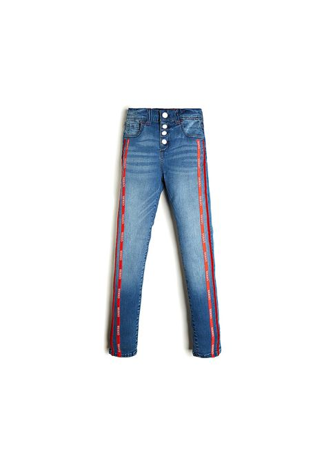 denim pants GUESS | Pantaloni | J0BA02D3UF0LTIW