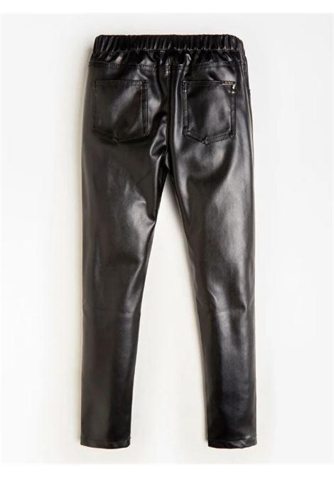 PU LEATHER LEGGINGS GUESS | Pantaloni | J0BB03WDE50JBLK