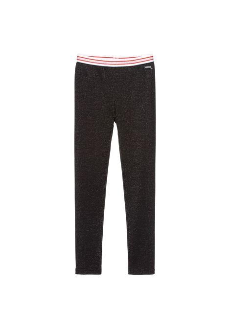 LUREX MILANO RIB LEG GUESS | Trousers | J0BB07KA3G0JBLK
