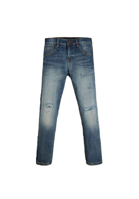DENIM SKINNY PANTS GUESS | Pantaloni | L0BA05D46T0THBL