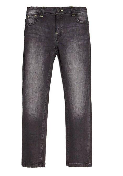 BLACK DENIM SKINNY GUESS | Pantaloni | L0BA13D465AXTRW